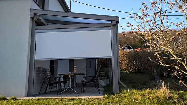 ARREA GmbH Terrassendach Lamellendach Faltdach Carport