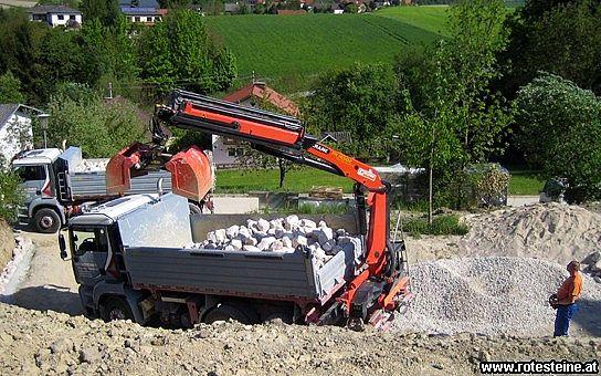 Kronsteiner GmbH Transporte-Steinbruch Steyr