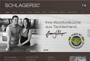 Logo mit Link Schlager Küche