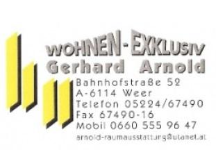 Wohnen exklusiv gerhard arnold raumausstatter schwaz for Raumausstatter schweiz